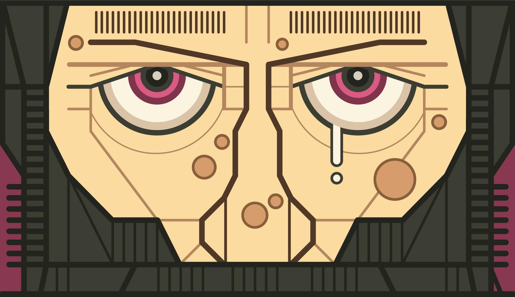 157 H MAN face